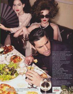 Editorial for High Fashion Lips Magazine in Bangkok, Thailand