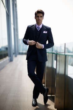 GQ Apparel Campaign of the roofs of Bangkok, Thailand