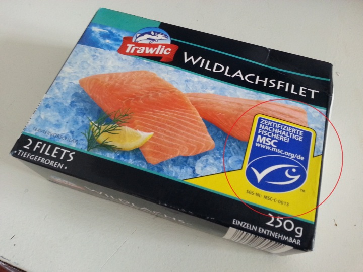 Package for Wild-Caught Salmon
